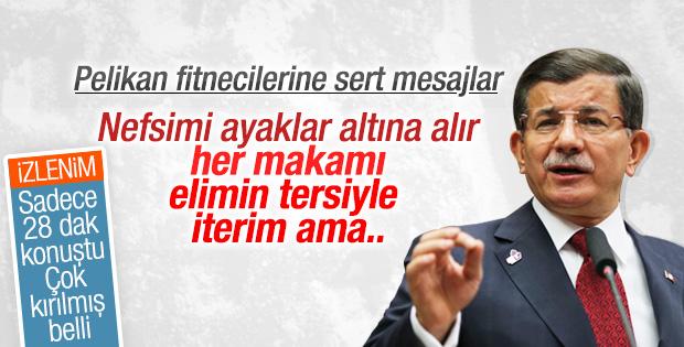 Davutoğlu 'pelikan' iddialarına sert çıktı