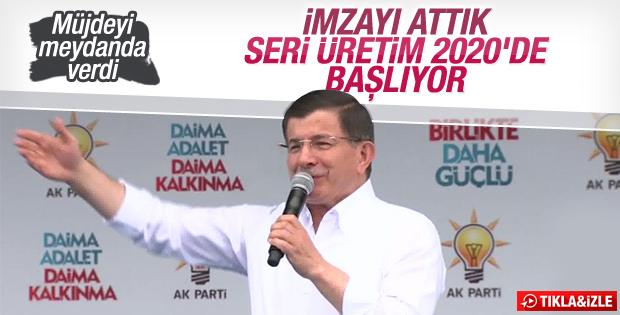 Başbakan Davutoğlu'nun Kırıkkale mitingi konuşması