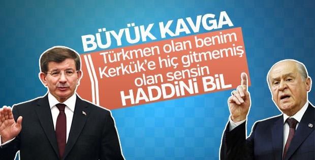 Ahmet Davutoğlu'ndan Bahçeli'ye cevap