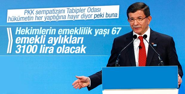 Davutoğlu'nun Tıp Bayramı konuşması