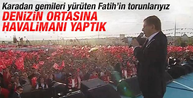 Başbakan Davutoğlu'nun İstanbul'un Fethi konuşması