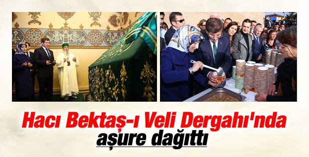 Başbakan Hacı Bektaş-ı Veli Türbesi'ni ziyaret etti