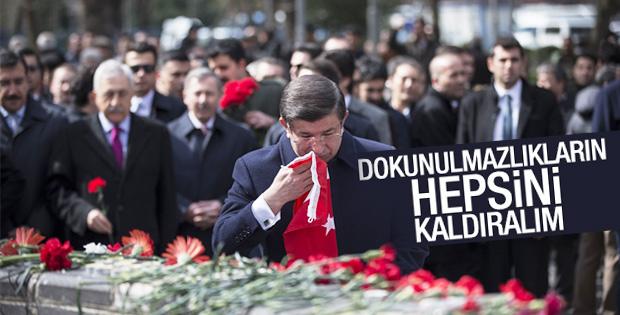Ahmet Davutoğlu'ndan dokunulmazlıkları kaldıralım teklifi