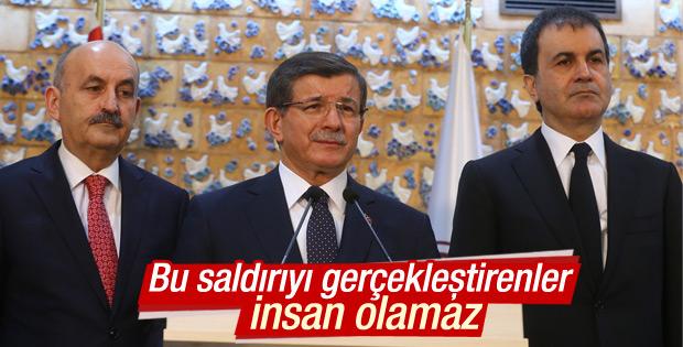 Davutoğlu'ndan Ankara açıklamaları