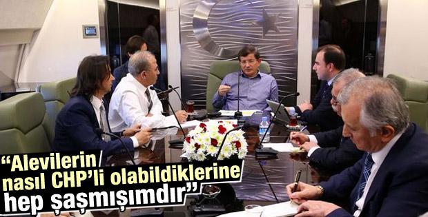 Davutoğlu: Aleviler nasıl hala CHP'li olabiliyor