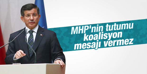 Başbakan Davutoğlu'ndan koalisyon açıklaması