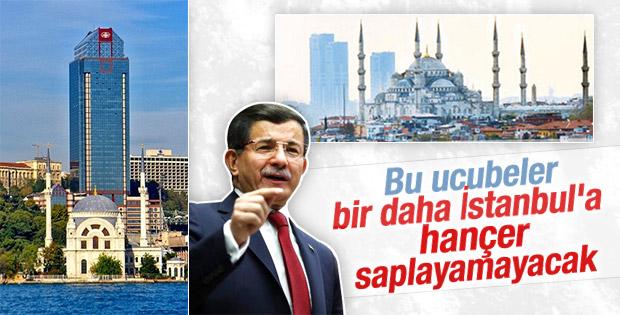 Başbakan Davutoğlu İstanbul silueti için garanti verdi