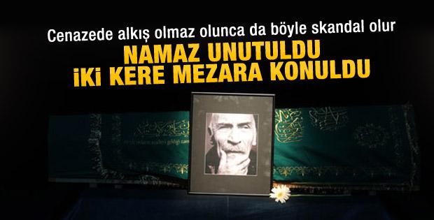 Tuncel Kurtiz'in cenazesi iki kere gömüldü