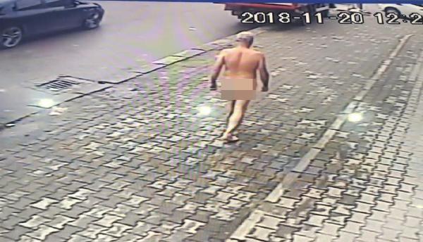 Bunalıma giren kişi yolda çırılçıplak yürüdü