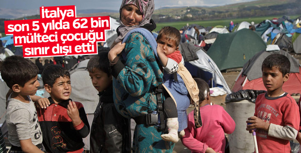 İtalya'da mülteci çocuklar sınır dışı ediliyor