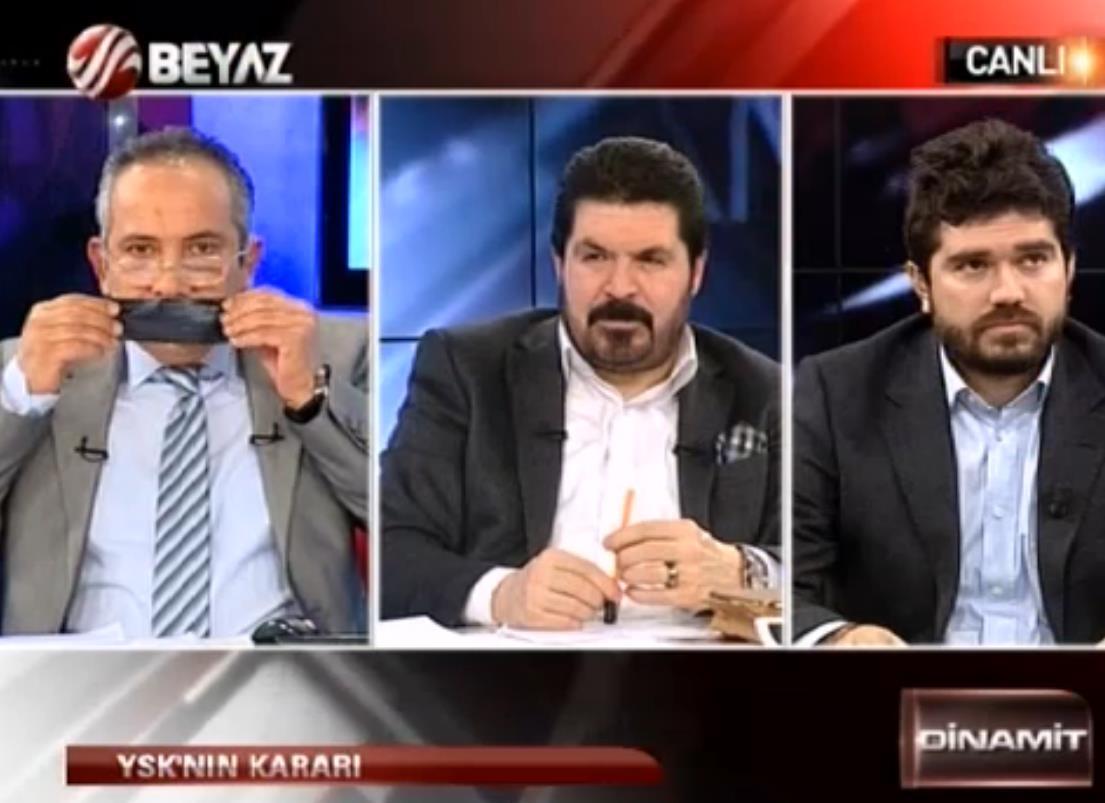 Rasim Ozan Kütahyalı'dan siyah bantlı protesto - izle