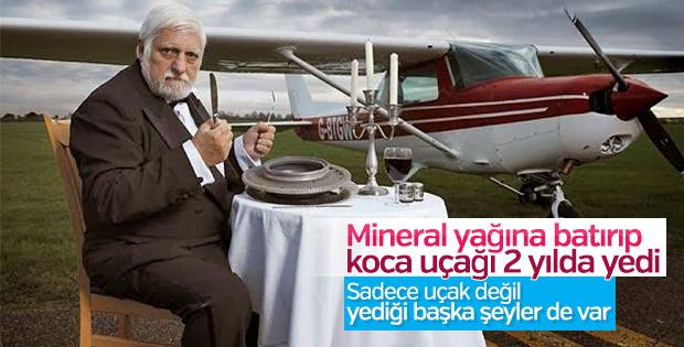 Uçak dahil her şeyi yiyebilen adam: Michel Lotito