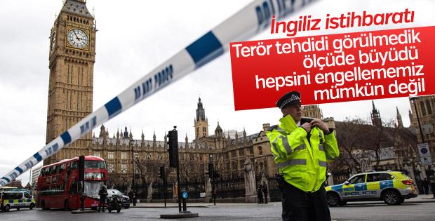 İngiliz istihbaratına göre terör tehdidi görülmedik ölçüde