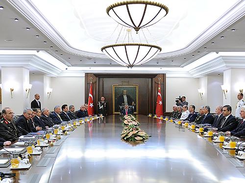 MGK Abdullah Gül başkanlığında toplandı