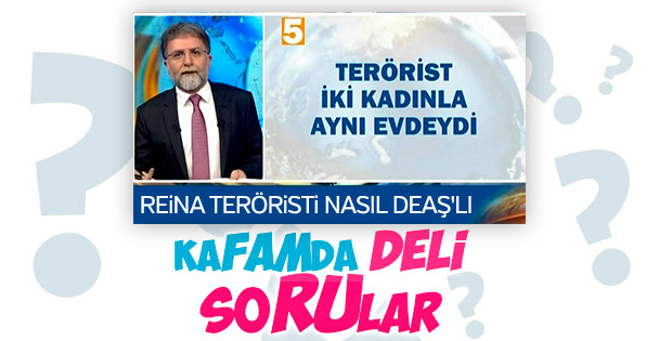 Ahmet Hakan'dan Reina saldırganı soruları