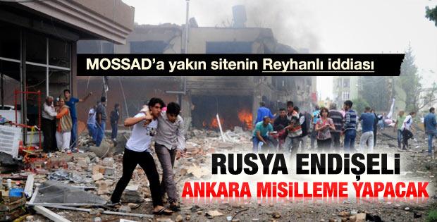 Debka: Rusya'da Ankara misilleme yapacak endişesi