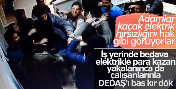 Diyarbakır'da DEDAŞ binasına saldırı