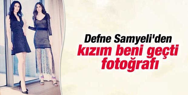 Defne Samyeli kızıyla yeni bir fotoğraf paylaştı