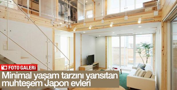 Japon stiliyle dekore edilmiş muhteşem evler