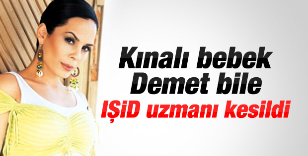 Demet Sağıroğlu'ndan IŞİD tweeti