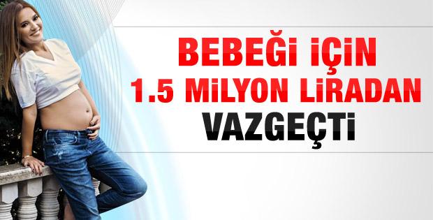 Demet Akalın kızı Hira için 1.5 milyon lirayı reddetti