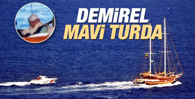 Süleyman Demirel'in Bodrum tatili
