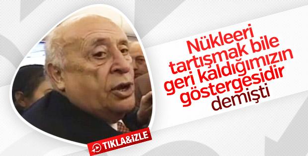 Süleyman Demirel'in nükleer enerjiyle ilgili sözleri