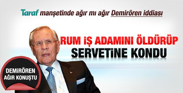 İşadamı Erdoğan Demirören cinayetle suçlanıyor