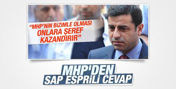 Selahattin Demirtaş'a MHP'den cevap geldi
