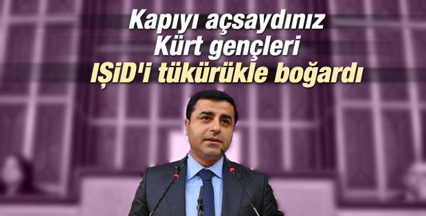 Selahattin Demirtaş'ın grup toplantısı konuşması İZLE