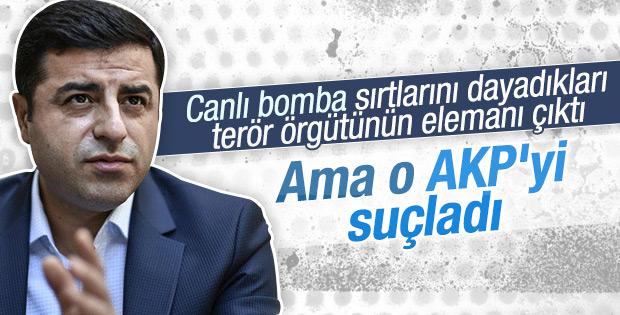 Demirtaş'tan Ankara saldırısıyla ilgili açıklama