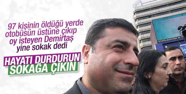 HDP hayatı durdurun çağrısı yaptı