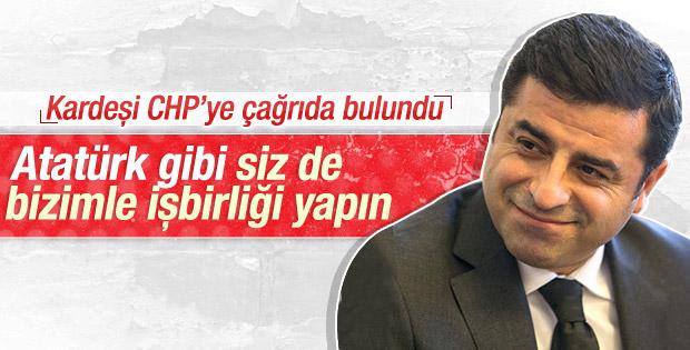 Demirtaş'ın ağabeyi: CHP Kürtlerle ittifak kurmalı