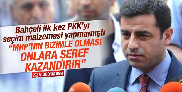 Selahattin Demirtaş'tan MHP'ye ağır sözler