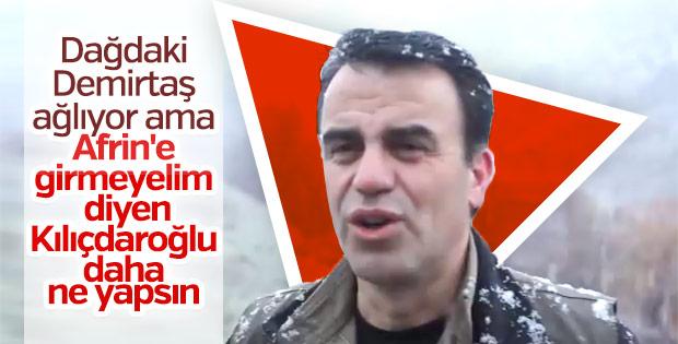 Abi Demirtaş'tan CHP'ye Afrin isyanı