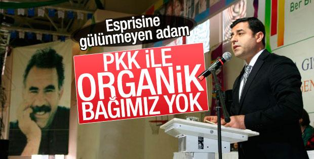 Demirtaş: PKK ile organik bağımız yok