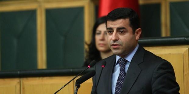 BDP Lideri Demirtaş:Montaj iddialarıyla bu işi örtemezsin