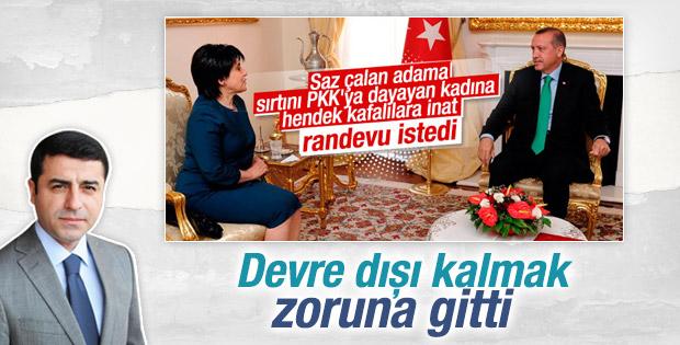 Demirtaş: Leyla Zana'nın Erdoğan'la görüşmesi kişisel