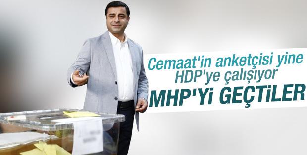 Metropoll'e göre sadece HDP'nin oyları artışta