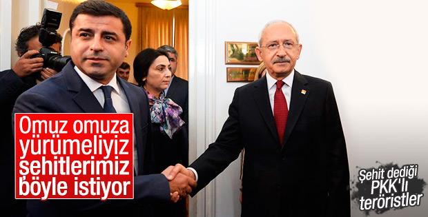 Demirtaş'tan CHP'ye: Omuz omuza yürüyelim
