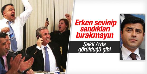 Demirtaş'tan HDP'lilere 7 Haziran uyarısı