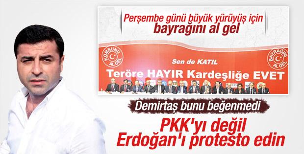Selahattin Demirtaş'tan TOBB'a tepki