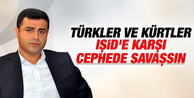 Demirtaş'tan Türk ve Kürt gençlere savaş çağrısı