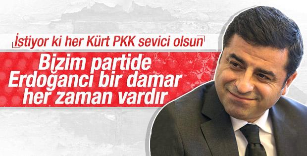 Demirtaş'tan bazı HDP'lilere: Erdoğan seviciler