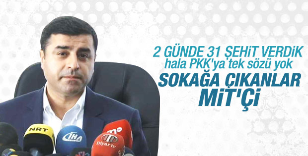 Selahattin Demirtaş'ın Diyarbakır konuşması