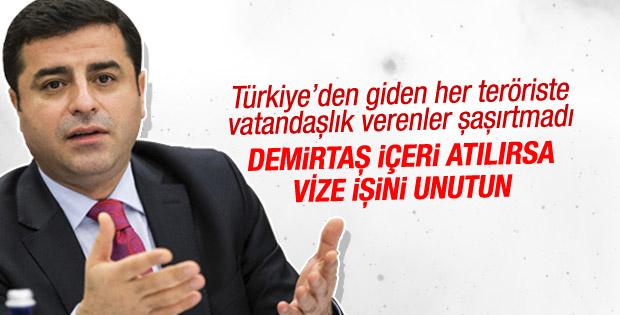 Avrupa Parlamentosu'ndan vize serbestisi için HDP şartı