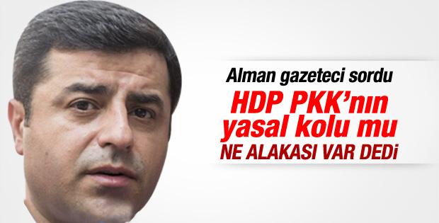 Demirtaş: PKK bizi temsil etmiyor