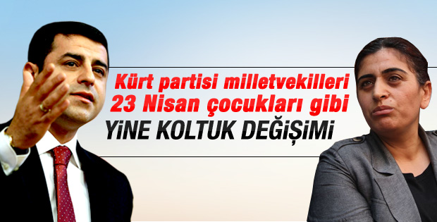 HDP eş başkanlarını seçti