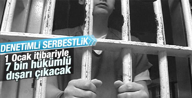 Yeni düzenlemeyle 7 bin 34 hükümlü cezaevinden çıkacak
