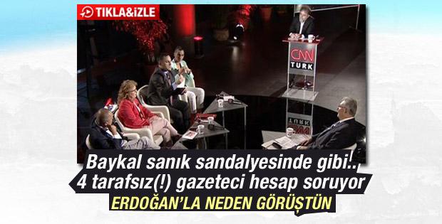 Deniz Baykal Erdoğan ile görüşmesini anlattı